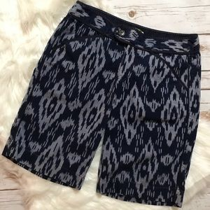 Anthropologie err twa Ikat Bermuda Shorts Size 6